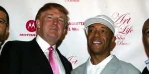 FBF Flash Back Friday Russell Simmons and Donald Trump