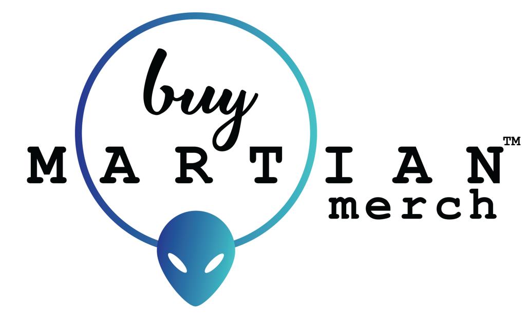 Buy Martian Merch ™ Logo In Color