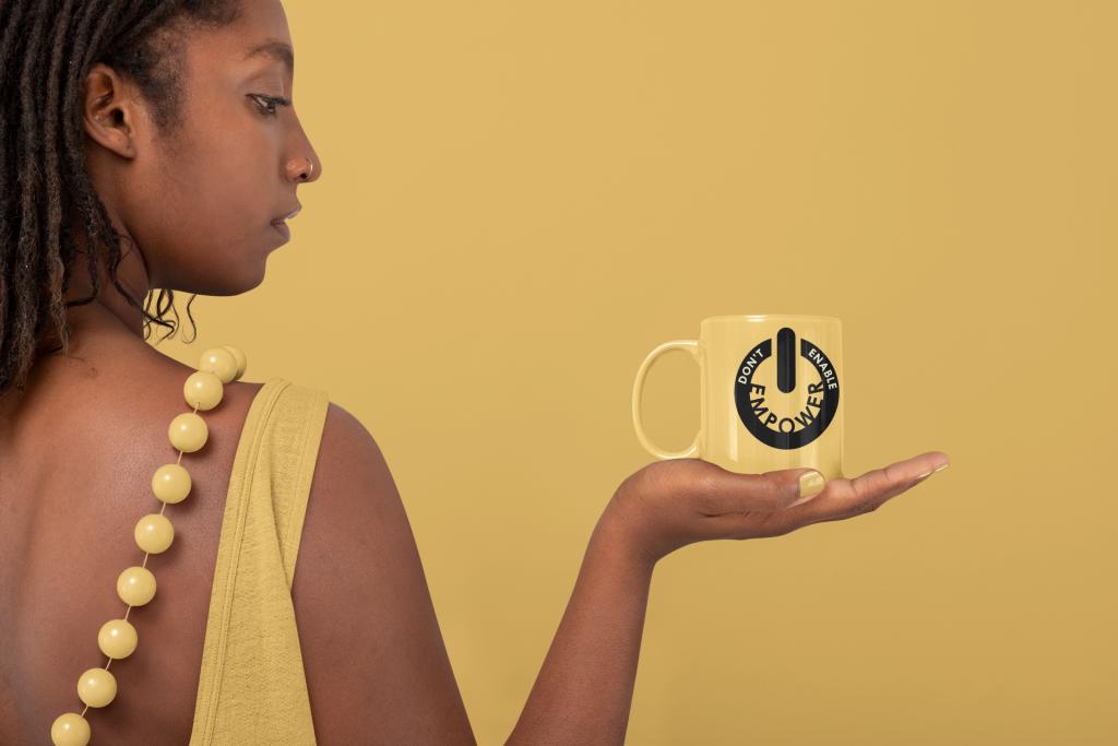 Legacy-Minded Individual ™ Don't Enable Empower Mug